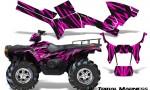 Polaris Sportsman 05 10 CreatorX Graphics Kit Tribal Madness Pink 150x90 - Polaris Sportsman 400 500 600 700 800 2005-2010 Graphics
