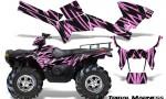 Polaris Sportsman 05 10 CreatorX Graphics Kit Tribal Madness PinkLite 150x90 - Polaris Sportsman 400 500 600 700 800 2005-2010 Graphics