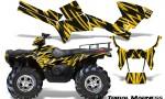 Polaris Sportsman 05 10 CreatorX Graphics Kit Tribal Madness Yellow 150x90 - Polaris Sportsman 400 500 600 700 800 2005-2010 Graphics