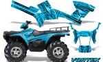 Polaris Sportsman 05 10 CreatorX Graphics Kit Vortex BlueIce 150x90 - Polaris Sportsman 400 500 600 700 800 2005-2010 Graphics