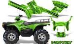 Polaris Sportsman 05 10 CreatorX Graphics Kit Vortex Green 150x90 - Polaris Sportsman 400 500 600 700 800 2005-2010 Graphics