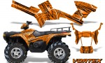 Polaris Sportsman 05 10 CreatorX Graphics Kit Vortex Orange 150x90 - Polaris Sportsman 400 500 600 700 800 2005-2010 Graphics