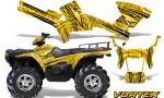 Polaris Sportsman 05 10 CreatorX Graphics Kit Vortex Yellow 150x90 - Polaris Sportsman 400 500 600 700 800 2005-2010 Graphics