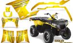 Polaris Sportsman 400 500 800 2011 2014 CreatorX Graphics Cold Fusion Yellow 150x90 - Polaris Sportsman 500 800 2011-2015 Graphics