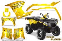 Polaris-Sportsman-400-500-800-2011-2014-CreatorX-Graphics-Cold-Fusion-Yellow