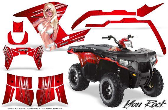 Polaris Sportsman 400 500 800 2011 2014 CreatorX Graphics You Rock Red BB 570x376 - Polaris Sportsman 500 800 2011-2015 Graphics