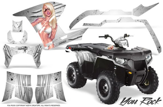 Polaris-Sportsman-400-500-800-2011-2014-CreatorX-Graphics-You-Rock-White
