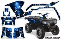 Polaris-Sportsman-400-500-800-2011-Skull-Chief-Blue