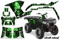 Polaris-Sportsman-400-500-800-2011-Skull-Chief-Green