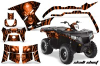 Polaris-Sportsman-400-500-800-2011-Skull-Chief-Orange