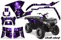 Polaris-Sportsman-400-500-800-2011-Skull-Chief-Purple