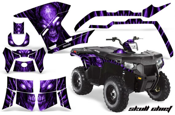 Polaris Sportsman 400 500 800 2011 Skull Chief Purple 570x376 - Polaris Sportsman 500 800 2011-2015 Graphics
