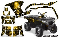 Polaris-Sportsman-400-500-800-2011-Skull-Chief-Yellow