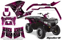 Polaris-Sportsman-400-500-800-2011-SpiderX-Pink