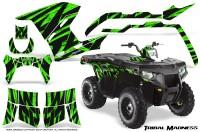 Polaris-Sportsman-400-500-800-2011-Tribal-Madness-Green