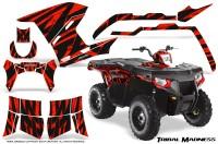Polaris-Sportsman-400-500-800-2011-Tribal-Madness-Red