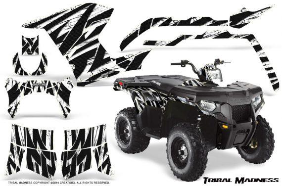 Polaris Sportsman 400 500 800 2011 Tribal Madness White 570x376 - Polaris Sportsman 500 800 2011-2015 Graphics
