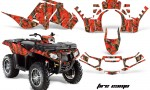 Polaris Sportsman 850 11 13 AMR Graphics Kit FireCamo 150x90 - Polaris Sportsman 550 09-15 - 850 1000 13-16 Graphics