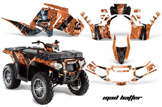 Polaris Sportsman 850 11 13 AMR Graphics Kit MadHatter Blk OrangeBg 570x376 - Polaris Sportsman 550 09-15 - 850 1000 13-16 Graphics