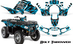Polaris Sportsman 850 11 13 Graphics Kit Bolt Thrower BlueIce 150x90 - Polaris Sportsman 550 09-15 - 850 1000 13-16 Graphics
