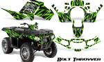 Polaris Sportsman 850 11 13 Graphics Kit Bolt Thrower Green 150x90 - Polaris Sportsman 550 09-15 - 850 1000 13-16 Graphics