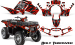Polaris Sportsman 850 11 13 Graphics Kit Bolt Thrower Red 150x90 - Polaris Sportsman 550 09-15 - 850 1000 13-16 Graphics