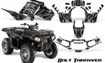 Polaris Sportsman 850 11 13 Graphics Kit Bolt Thrower Silver 150x90 - Polaris Sportsman 550 09-15 - 850 1000 13-16 Graphics