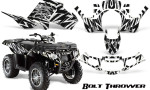 Polaris Sportsman 850 11 13 Graphics Kit Bolt Thrower White 150x90 - Polaris Sportsman 550 09-15 - 850 1000 13-16 Graphics