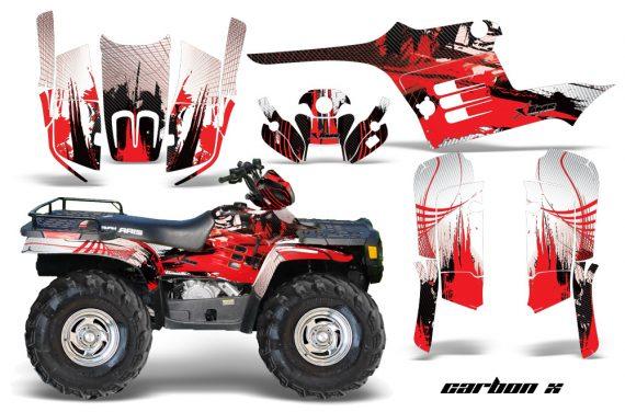 Polaris Sportsman 95 04 CX Red1 570x376 - Polaris Sportsman 400 500 600 700 1995-2004 Graphics