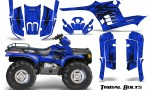 Polaris Sportsman 95 04 CreatorX Graphics Kit Tribal Bolts Blue 150x90 - Polaris Sportsman 400 500 600 700 1995-2004 Graphics