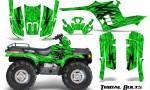 Polaris Sportsman 95 04 CreatorX Graphics Kit Tribal Bolts Green 150x90 - Polaris Sportsman 400 500 600 700 1995-2004 Graphics