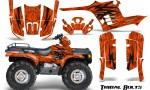 Polaris Sportsman 95 04 CreatorX Graphics Kit Tribal Bolts Orange 150x90 - Polaris Sportsman 400 500 600 700 1995-2004 Graphics