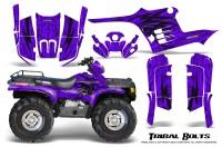 Polaris-Sportsman-95-04-CreatorX-Graphics-Kit-Tribal-Bolts-Purple