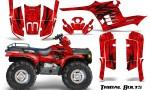 Polaris Sportsman 95 04 CreatorX Graphics Kit Tribal Bolts Red 150x90 - Polaris Sportsman 400 500 600 700 1995-2004 Graphics