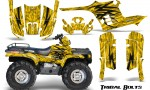 Polaris Sportsman 95 04 CreatorX Graphics Kit Tribal Bolts Yellow 150x90 - Polaris Sportsman 400 500 600 700 1995-2004 Graphics