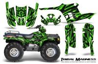 Polaris-Sportsman-95-04-CreatorX-Graphics-Kit-Tribal-Madness-Green