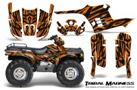 Polaris-Sportsman-95-04-CreatorX-Graphics-Kit-Tribal-Madness-Orange