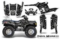 Polaris-Sportsman-95-04-CreatorX-Graphics-Kit-Tribal-Madness-Silver