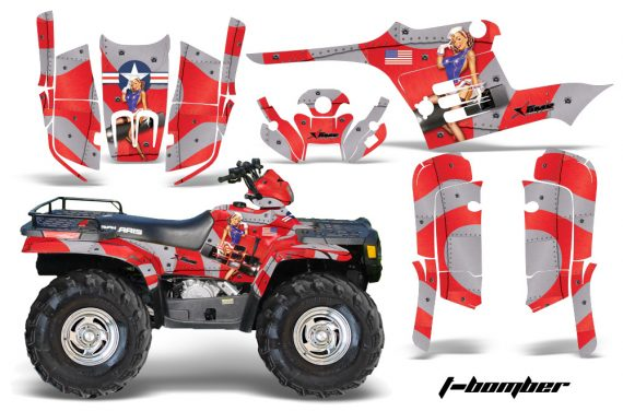 Polaris Sportsman 95 04 TB Red1 570x376 - Polaris Sportsman 400 500 600 700 1995-2004 Graphics