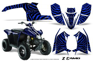 Polaris TrailBlazer 2013 CreatorX Graphics Kit ZCamo Blue 320x211 - Polaris Trailblazer 2010-2013 Graphics