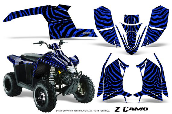 Polaris TrailBlazer 2013 CreatorX Graphics Kit ZCamo Blue 570x376 - Polaris Trailblazer 2010-2013 Graphics