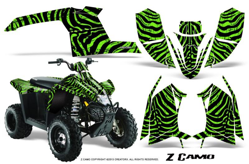 Polaris-TrailBlazer-2013-CreatorX-Graphics-Kit-ZCamo-Green