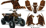 Polaris TrailBlazer 2013 CreatorX Graphics Kit ZCamo Orange 150x90 - Polaris Trailblazer 2010-2013 Graphics