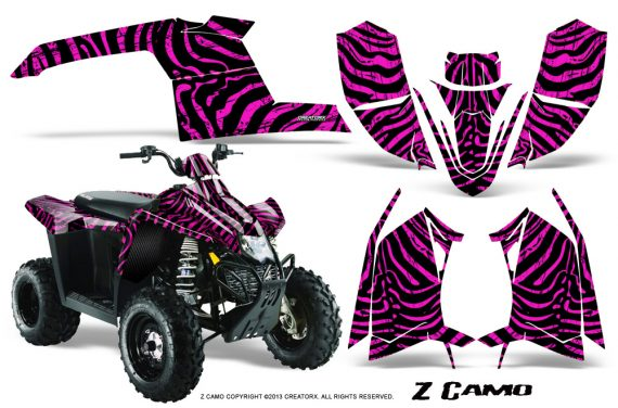 Polaris TrailBlazer 2013 CreatorX Graphics Kit ZCamo Pink 570x376 - Polaris Trailblazer 2010-2013 Graphics