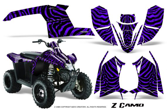 Polaris TrailBlazer 2013 CreatorX Graphics Kit ZCamo Purple 570x376 - Polaris Trailblazer 2010-2013 Graphics