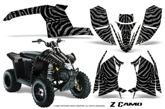 Polaris TrailBlazer 2013 CreatorX Graphics Kit ZCamo Silver 570x376 - Polaris Trailblazer 2010-2013 Graphics