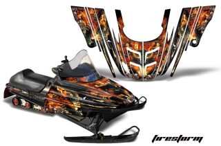Polaris XC 700 Gen 2 II 99 03 AMR Graphics Kit Wrap FS B 320x211 - Polaris 700XC 800XCR 600 RMK Touring 1999-2003 Graphics
