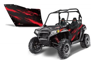 Polaris XP RZR 800/900 Graphics for OEM Polaris Doors 2011-2012