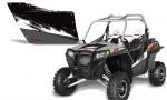 PolarisOEM 900 LiquidSilver 150x90 - Polaris XP RZR 800/900 Graphics for OEM Polaris Doors 2011-2012