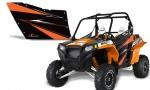 PolarisOEM 900 OrangeMadness 150x90 - Polaris XP RZR 800/900 Graphics for OEM Polaris Doors 2011-2012